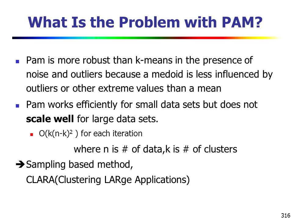 What Is the Problem with PAM