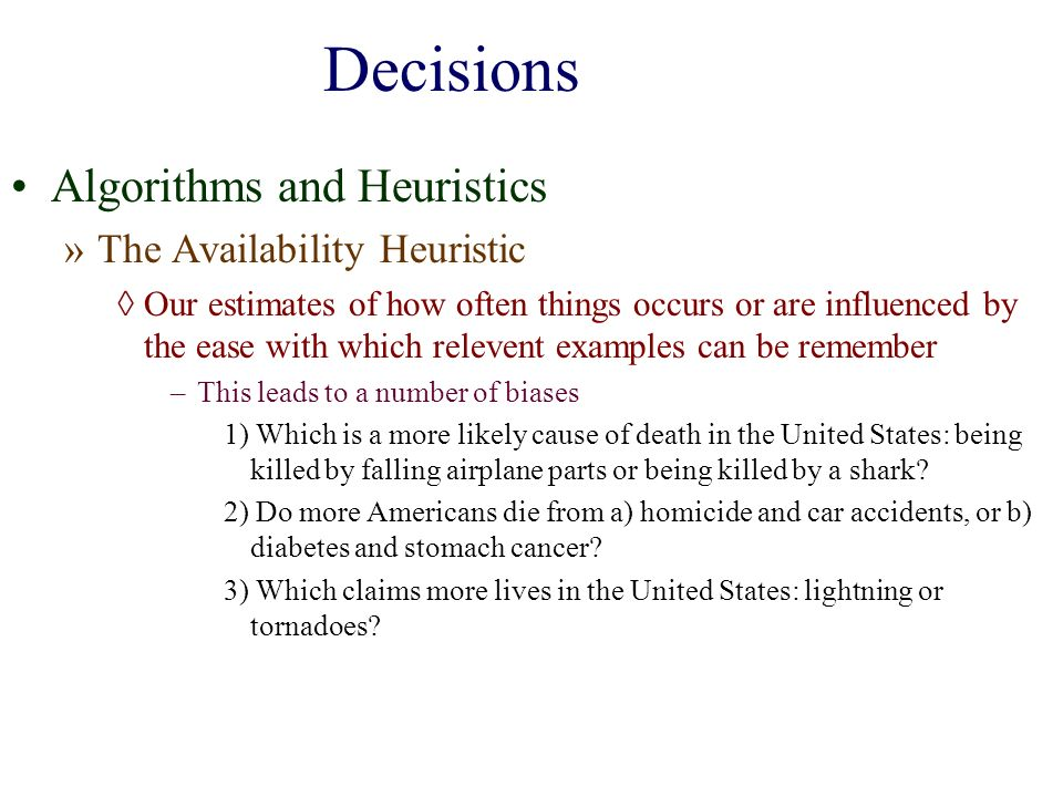 Decisions Judgements And Reasoning Ppt Download