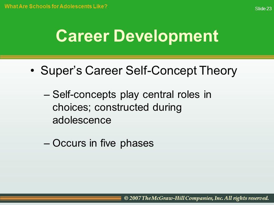 super theory of career development pdf
