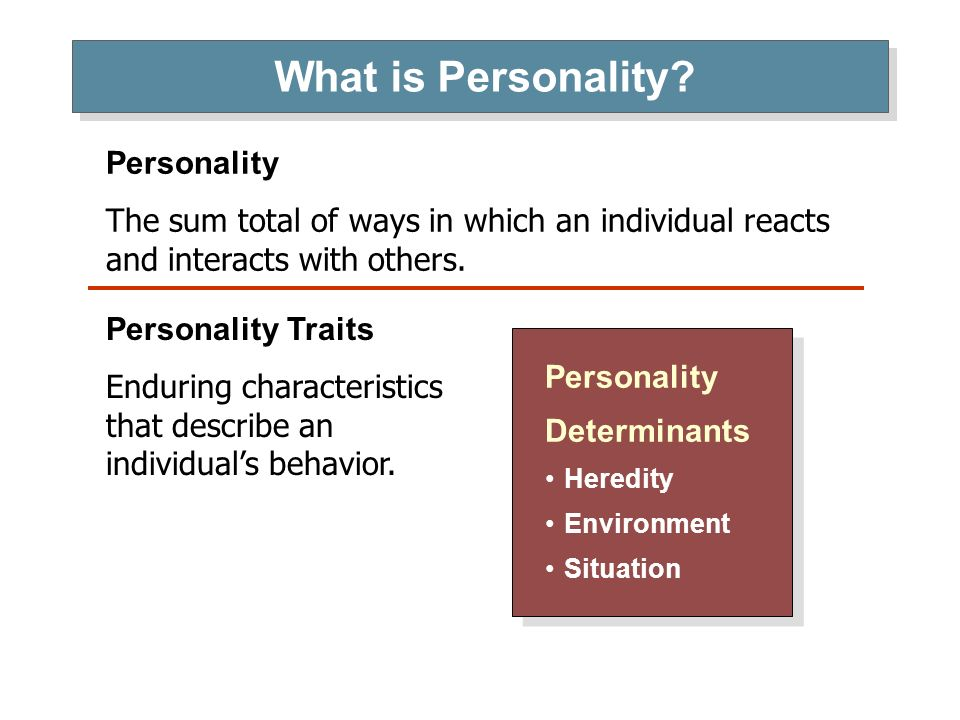 what is personality Personality is the supreme realization of the innate idiosyncrasy of a living being it is an act of courage flung in the face of life, the absolute affirmation of all that constitutes the individual, the most successful adaptation to the universal conditions of existence, coupled with the greatest possible freedom of self-determination.