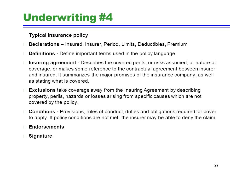 Define Property Insurance Policy