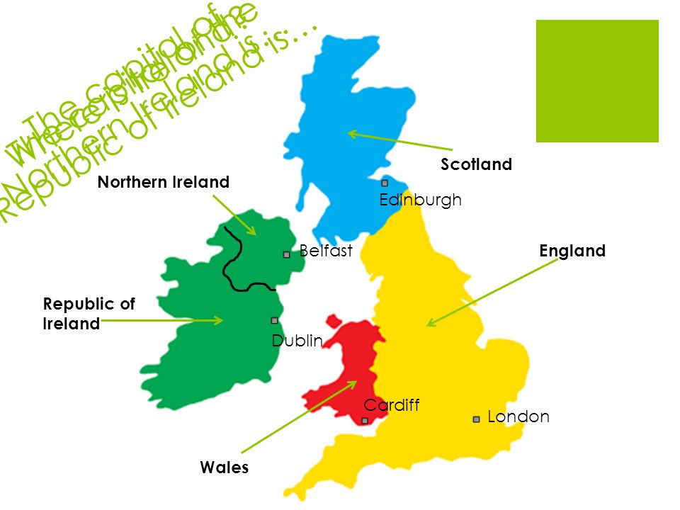 I Can Label The Map Ppt Video Online Download - Where is ireland