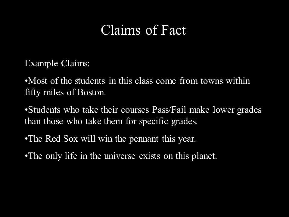 Elements Of Argument Claims Ppt Video Online Download