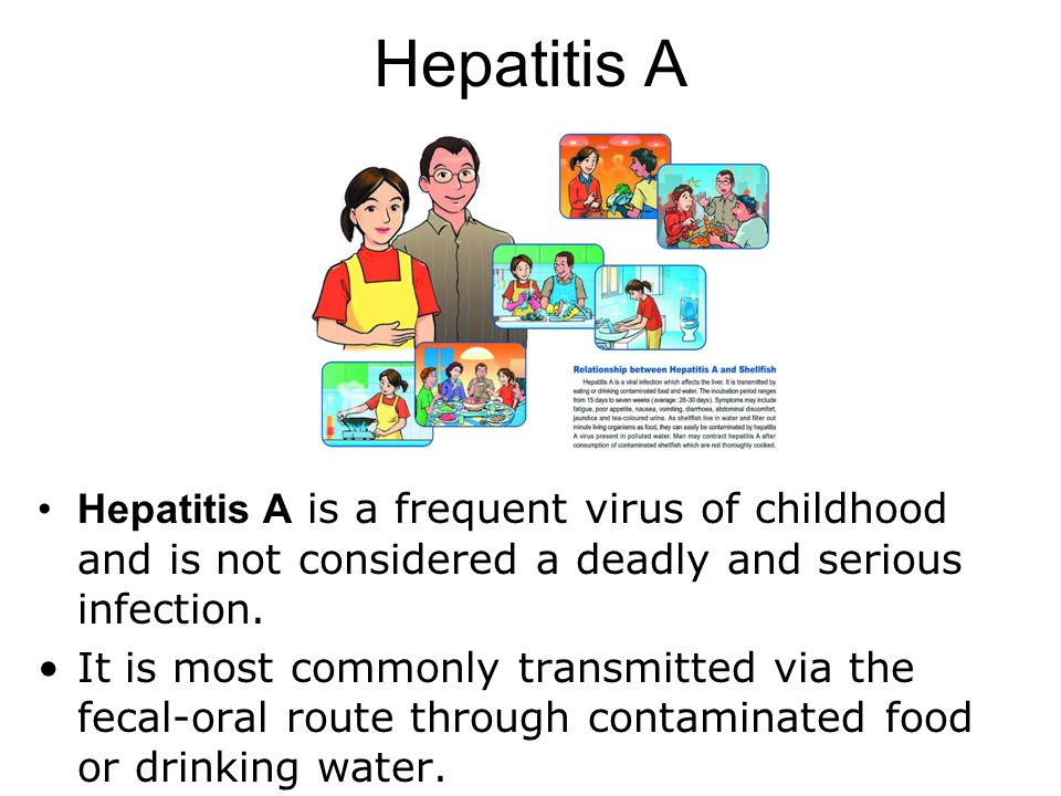 Can Hepatitis A Be Transmitted Through Food