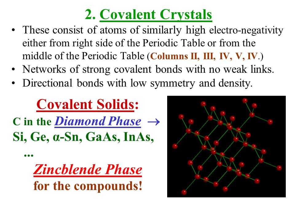 types of crystal structure pdf