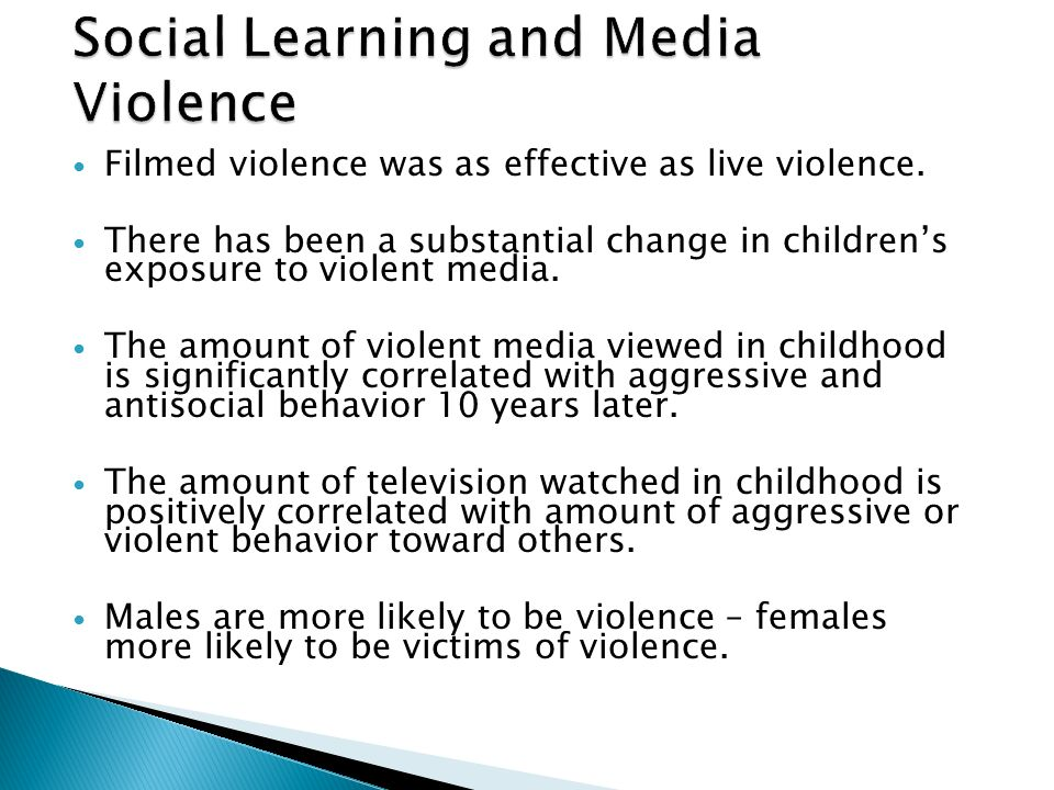observational learning and media violence essay And the effects of media violence social learning theory  observational learning and  international relations and politics essay,.