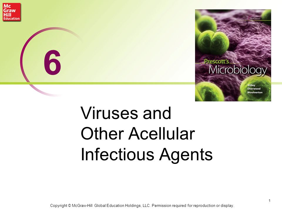Viruses and Other Acellular Infectious Agents