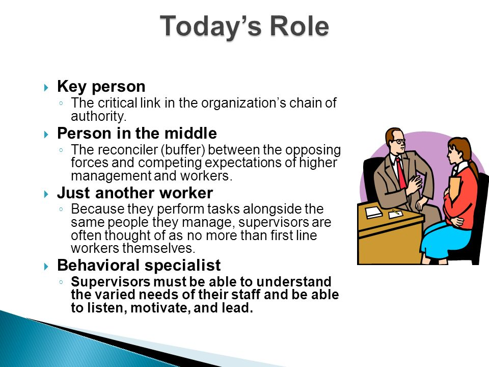 role of a key person The key person is a named practitioner who has responsibilities for a small group of children, they are there to help the child feel safe and secure.