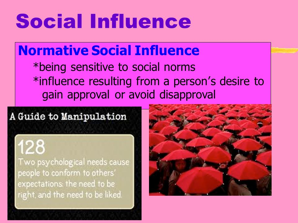 the impact of social norms on In order to mobilise action against a social problem, public service communicators often include normative information in their persuasive appeals such messages can be either effective or ineffective because they can normalise either.
