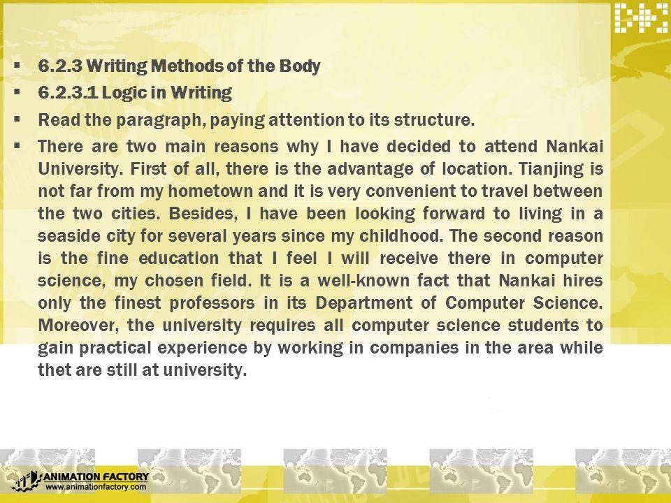 part four composition   essay writing