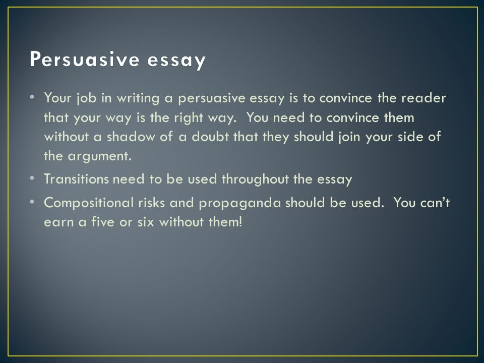 five paragraphs minutes ppt video online  persuasive essay