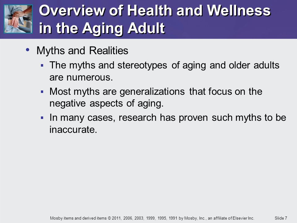 late adulthood myths and stereotypes Although everyone is prone to using stereotypes, stereotyping is not inevitable (see gilbert and hixon, 1991) late adulthood and the death of an individual cultural diversity and business leaders must receive diversity training to address myths, stereotypes and real.