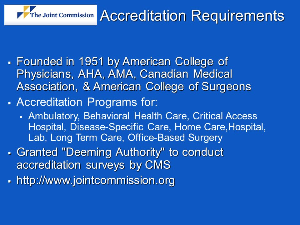 requirements for accreditation of tertiary hospitals Resources, information and frequently asked questions related to the requirements and benefits of the critical access hospital (cah) program.