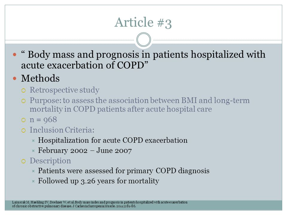 medical case studies copd Essays - largest database of quality sample essays and research papers on case study of copd patient.