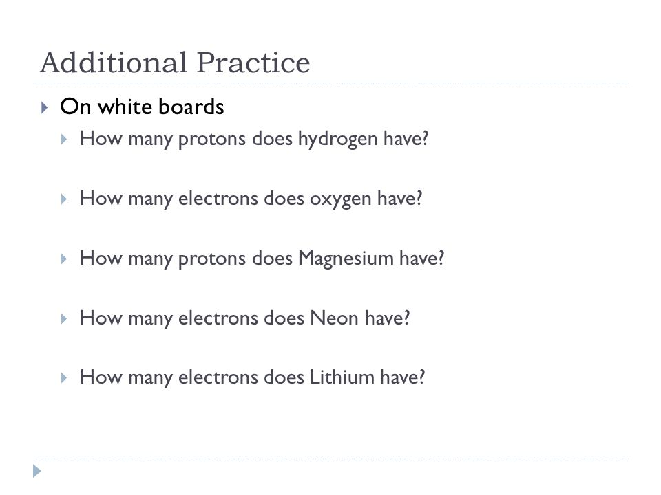 Additional Practice On white boards