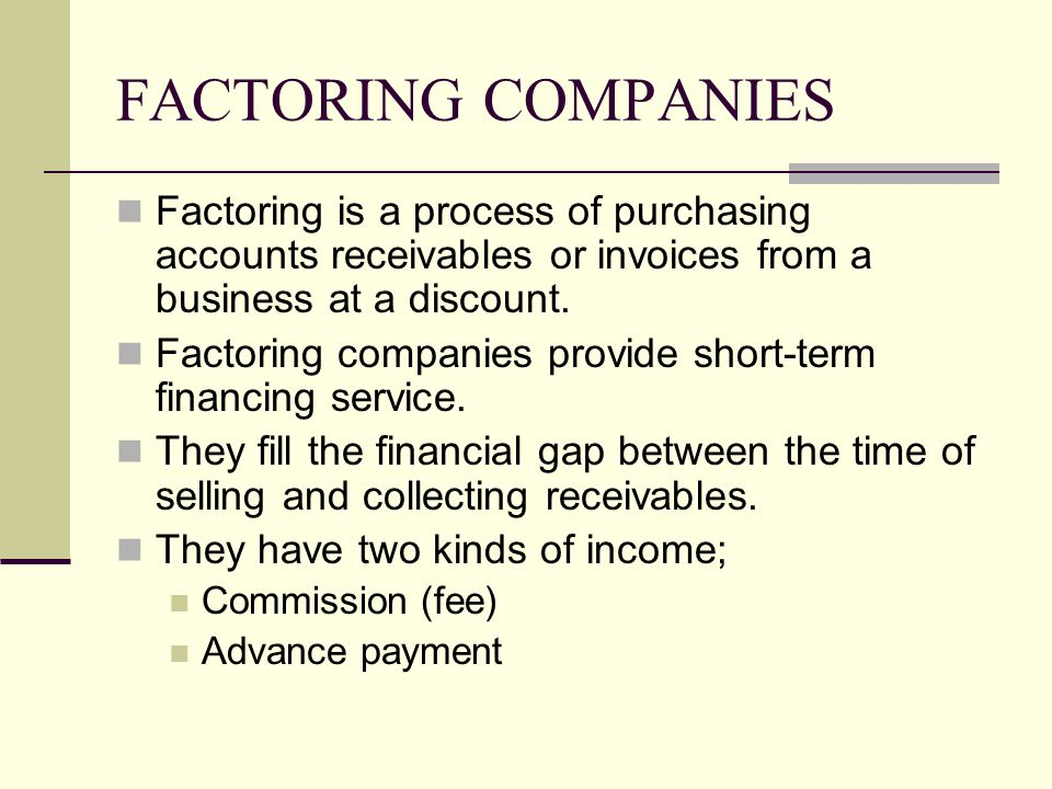 selling and collection of receivables Factoring vs collections: which is better for your a transaction where you sell your credit worthy accounts receivable or current receivables that are.