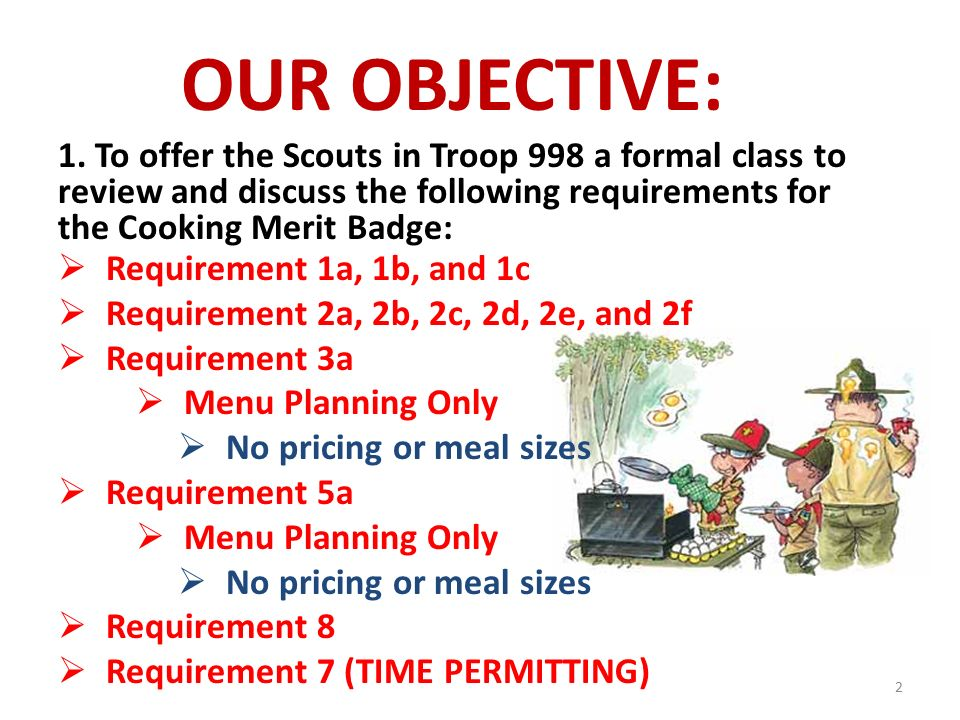 Personal Management Merit Badge Requirement 1 - YouTube