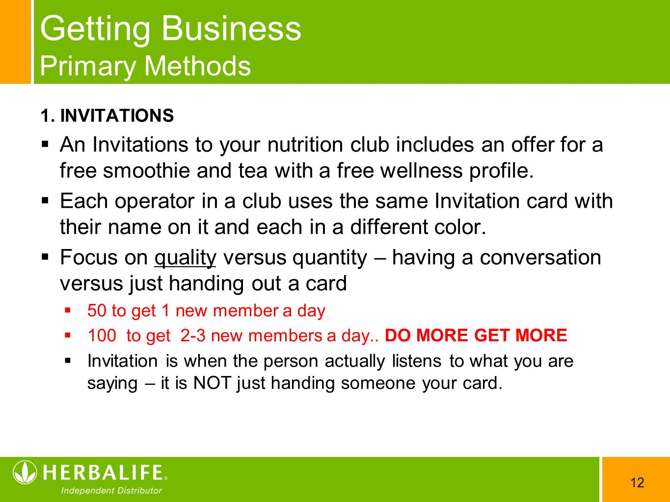 Herbalife Invitation Cards - All The Best Invitation In 2018
