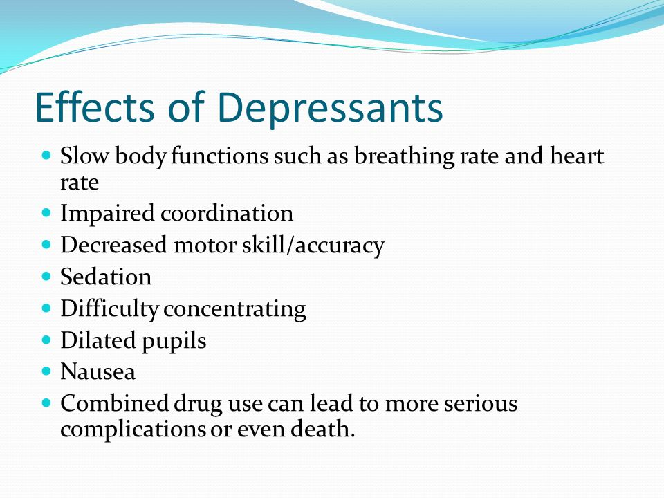 Stimulants and Depressants - ppt video online download