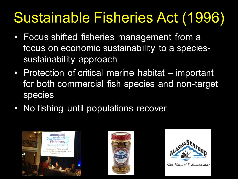 Sustainable Fisheries Act (1996)