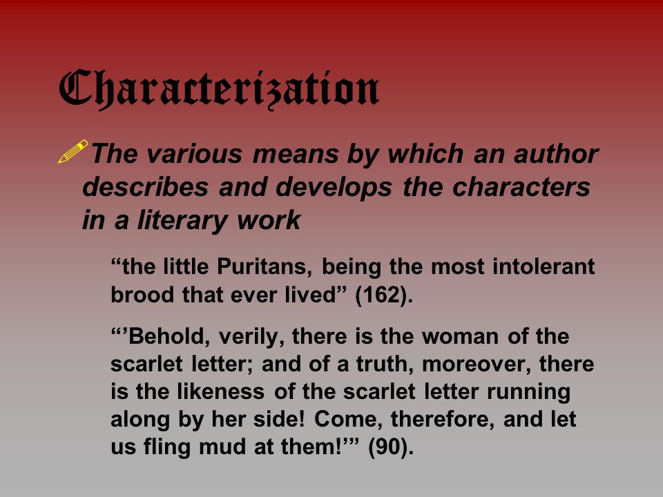 character analysis essay dimmesdale scarlet letter