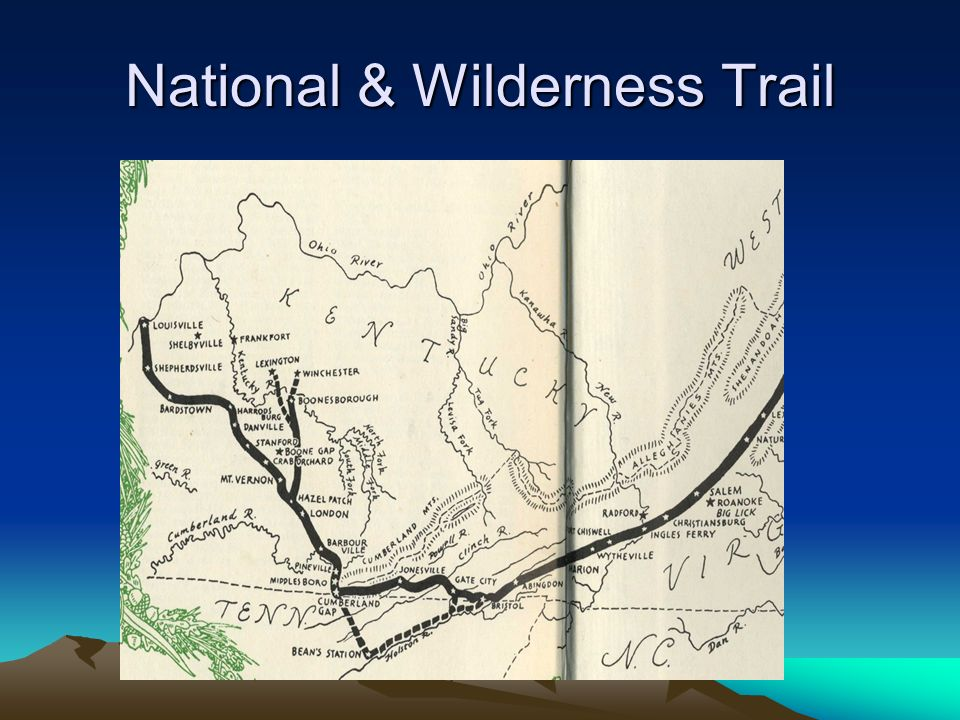 National & Wilderness Trail