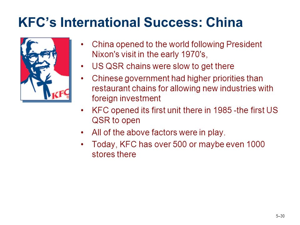 sucsess factors of kfc Free essays on success factors of kfc for students use our papers to help you with yours 1 - 30.