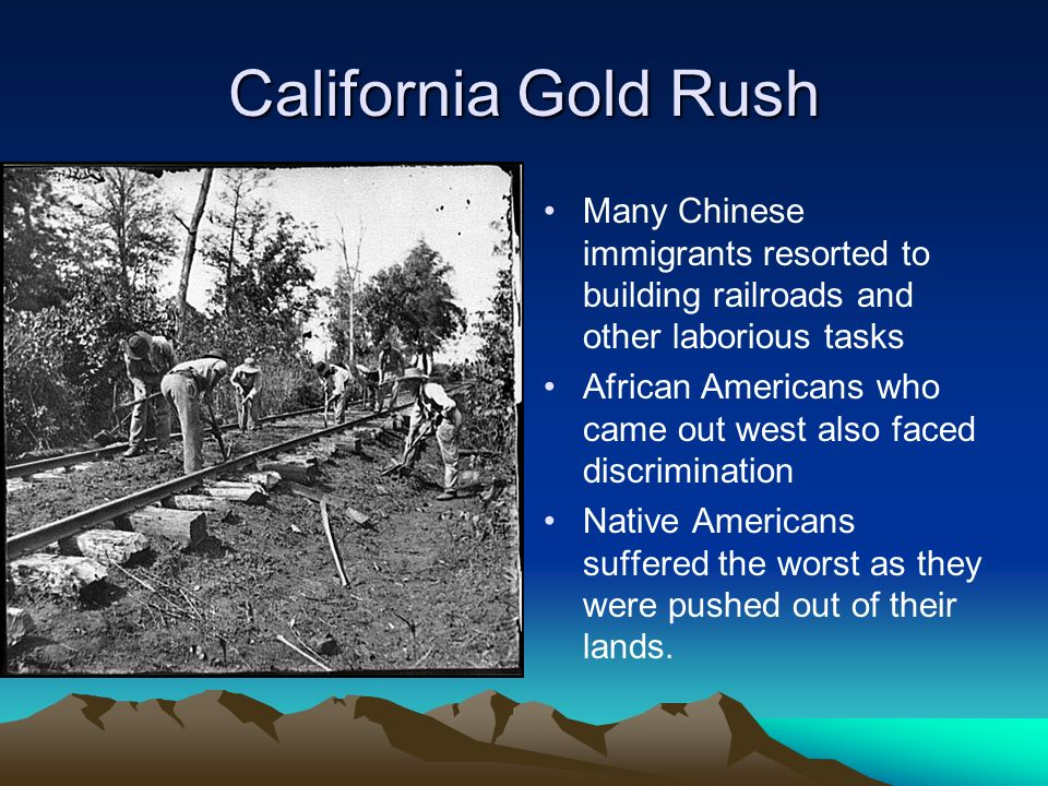 Original in addition Pedigree as well Consequences Of War War Was Disaster For Mexico further C B E Aa B Efa Gold Miners Gold Prospecting as well Picture Gold Rush. on u s history westward expansion gold
