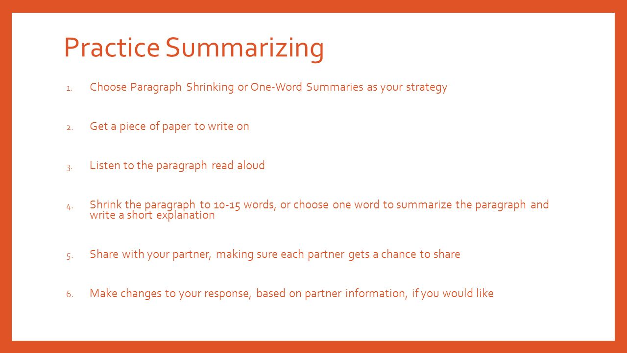 shrinking paragraph templatethe shrinking paragraph a 2nd grade core summarizing picture then paragraph - duration: 20:45 t&l 4th grade core summarizing paragraph shrinking - duration: 20:49 t&l.