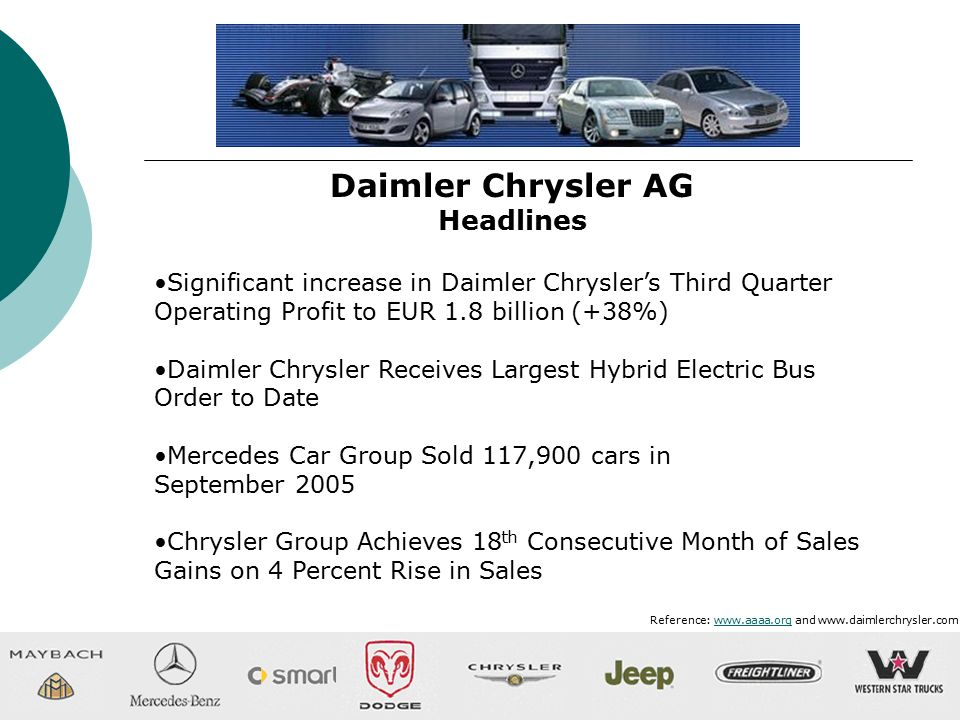 the merger of diamler chrysler essay Daimler-chrysler merger portrayal daimler-chrysler merger portrayal 1 a study of the dailmlerchrysler merger portrayal in us and european media research paper sergei golitsinski 48c:291 project.