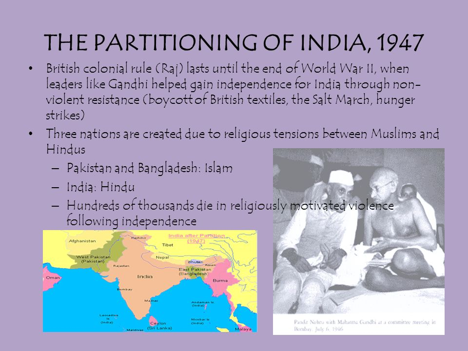 separation of hindus and muslims sparked conflict between india and pakistan News world  asia partition 70 years on: the violence that created pakistan and india 'you think hindus and muslims only have bloody guns pointing at each other.
