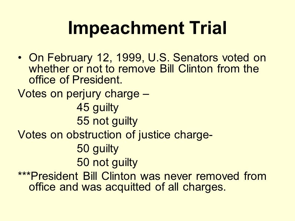 Clinton impeachment trial begins