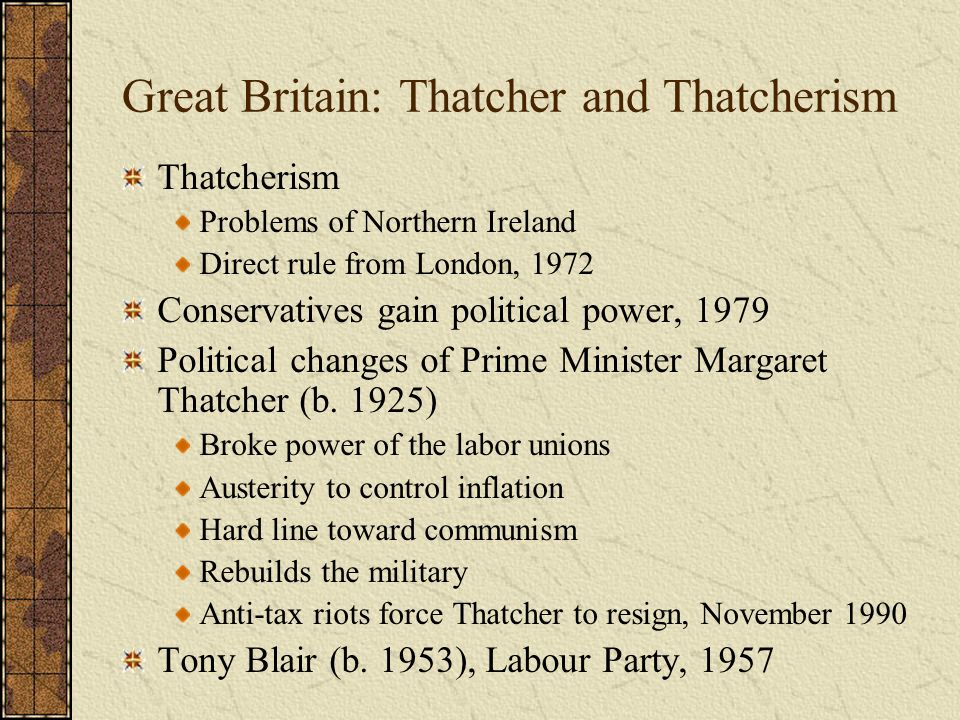thatcherism and conservatism The politics of thatcherism by andrew gamble a third consecutive  general election victory for the conservatives in 1987 equalled their sequence of .