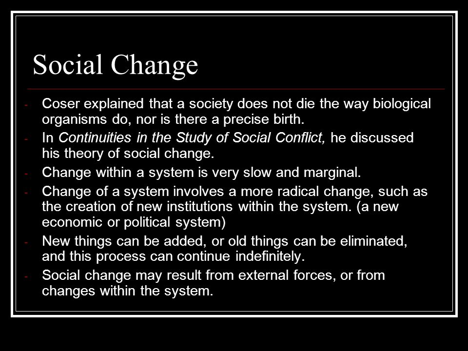 Top 5 Theories of Social Change – Explained