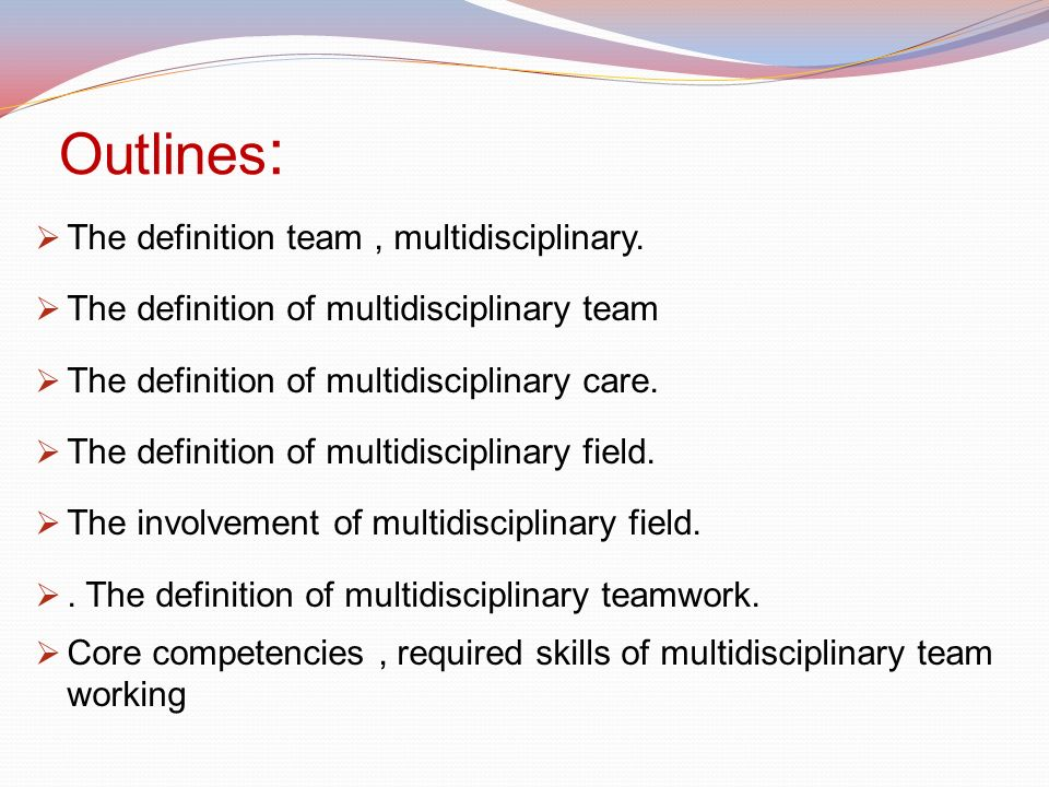 the role of multidisciplinary working This essay will focus upon the role of multi disciplinary collaboration regarding the crisis centre staff, and crisis resolution home treatment team (crhtt), and to discuss why collaboration appears to play an important and fundamental role within social work practice.