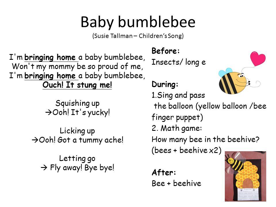 Lyric bumble bee song lyrics : Baby Bumble Bee Song Baby Bumblebee Singing Bell Baby Bumble Bee ...
