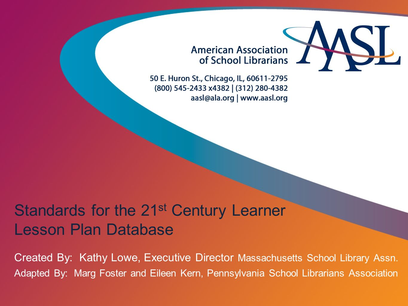 Standards For The St Century Learner Lesson Plan Database Ppt - 21st century lesson plan template
