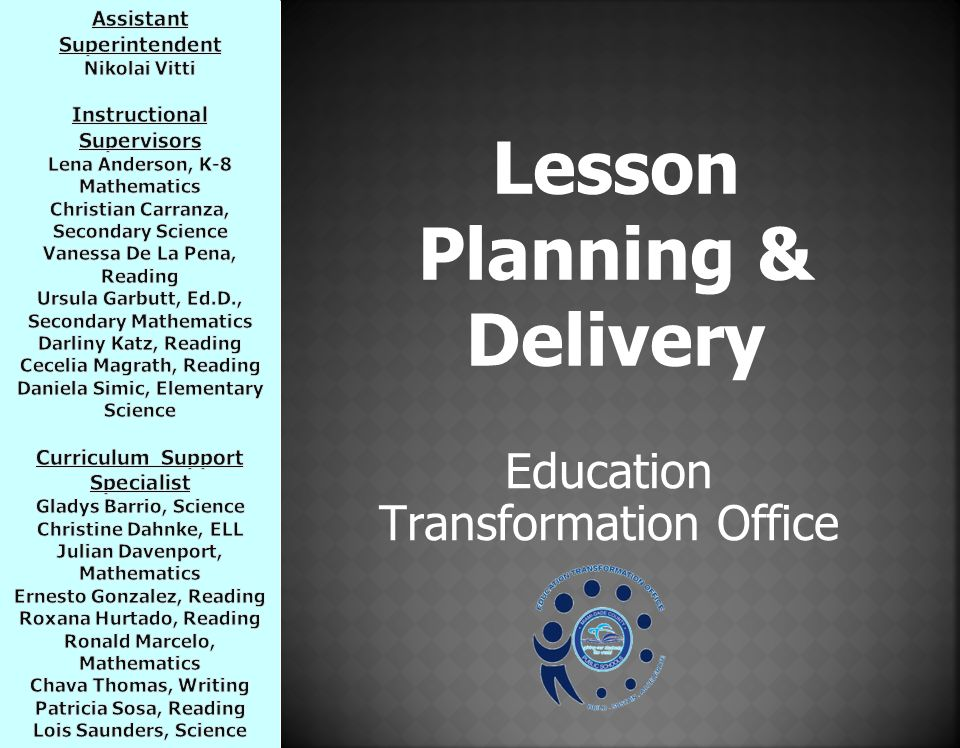 lesson planning ppt lesson planning ppt