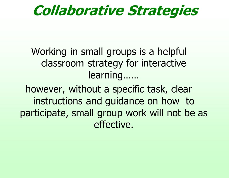 Collaborative Work In Classroom : Lesson planning delivery ppt video online download