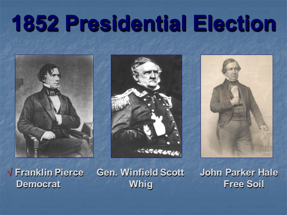 1852 Presidential Election