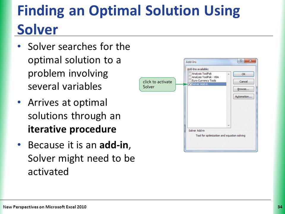 microsoft excel solver tutorial pdf