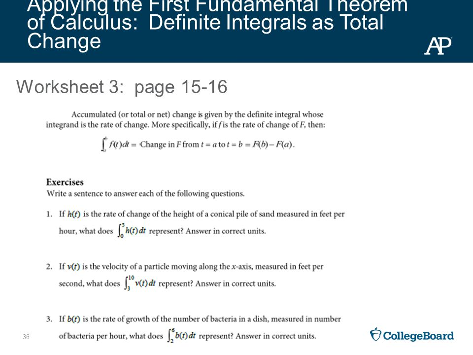 calculus ab apsi 2015 day 3 professional development workshop handbook ppt video online download. Black Bedroom Furniture Sets. Home Design Ideas