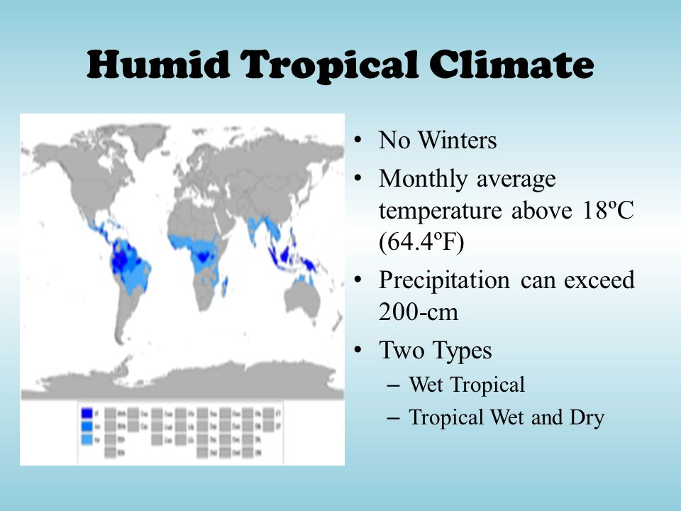 Humid Tropical Climate