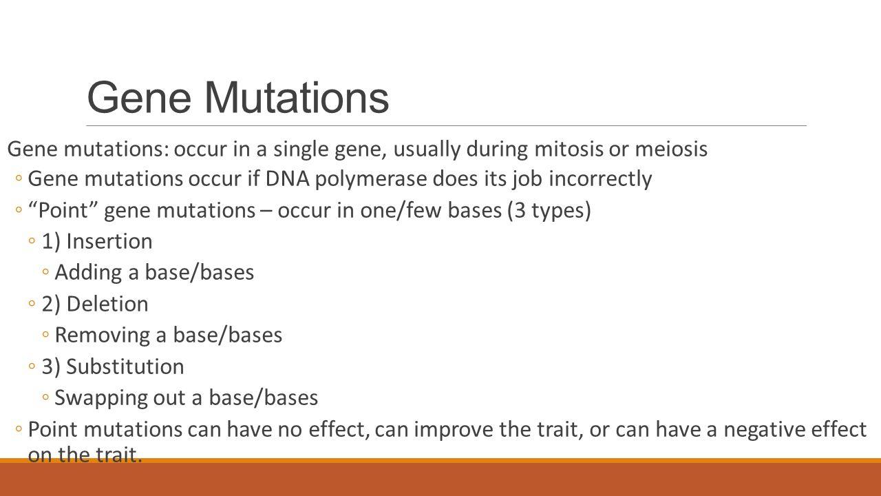 Mutations ppt