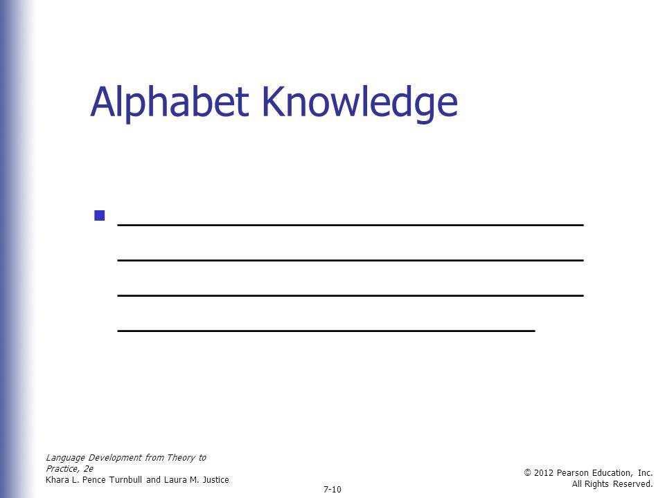 Letter Name Pronunciation Advantage