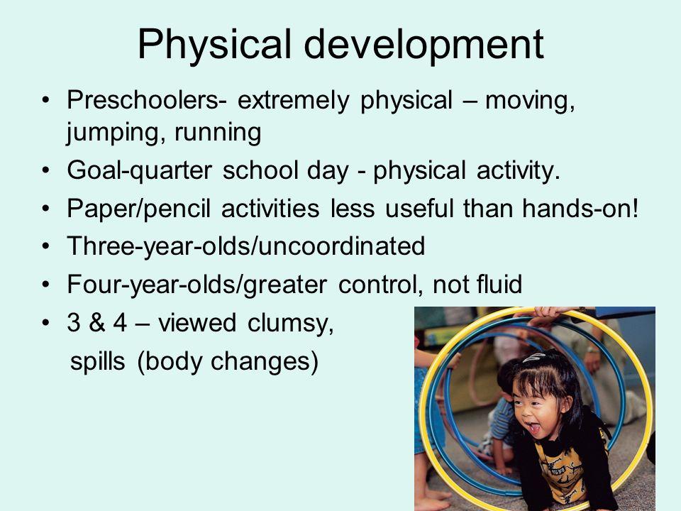 physical development in preschoolers developmentally appropriate practice ppt 230