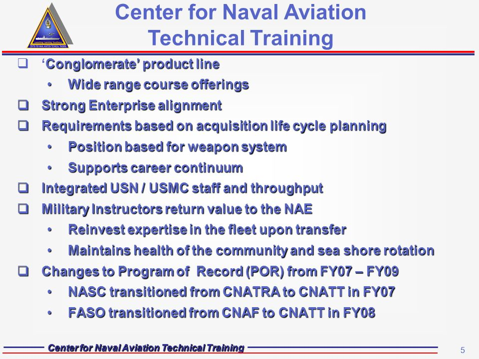 Center For Naval Aviation Technical Training North Island