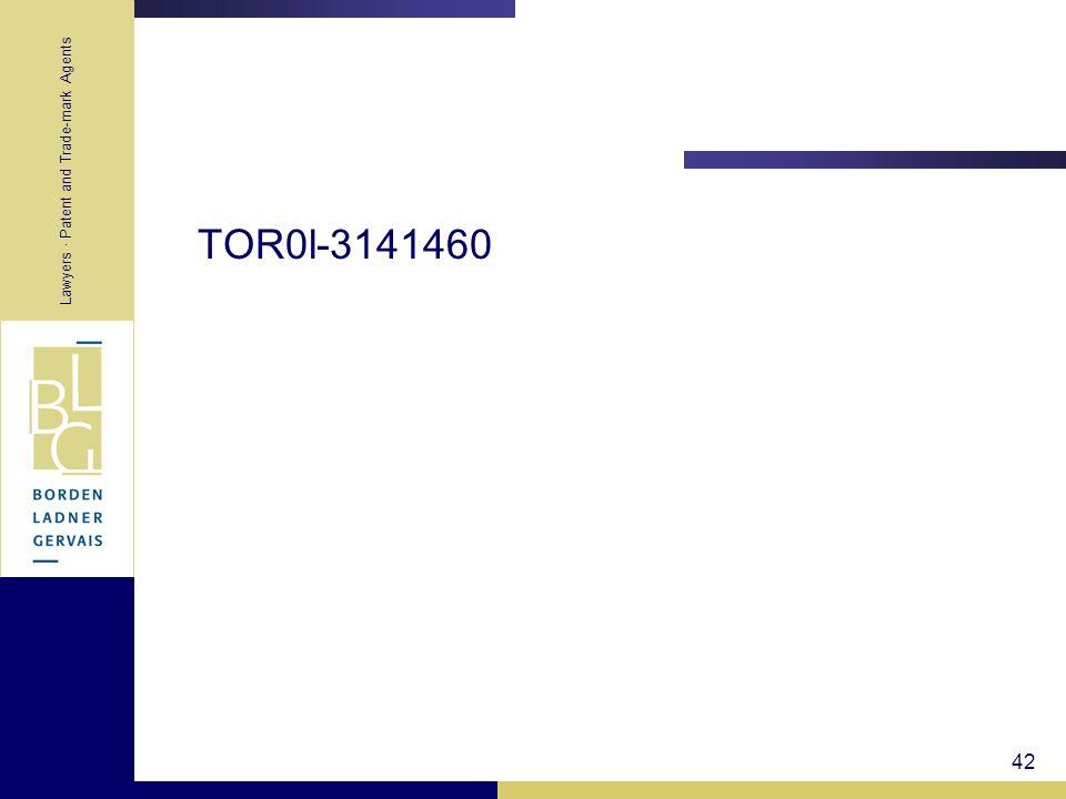TOR0l-3141460