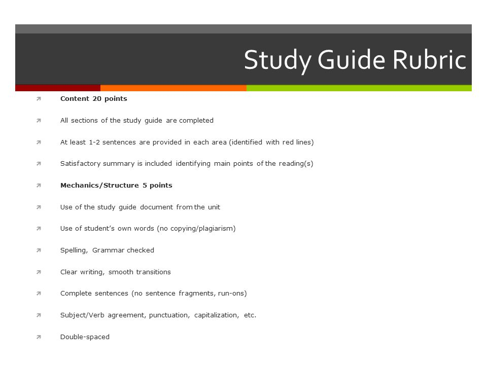 Math Homework Rubric Examples - Video & Lesson Transcript ...