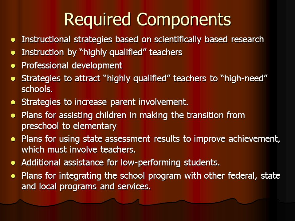 high school instructional strategies